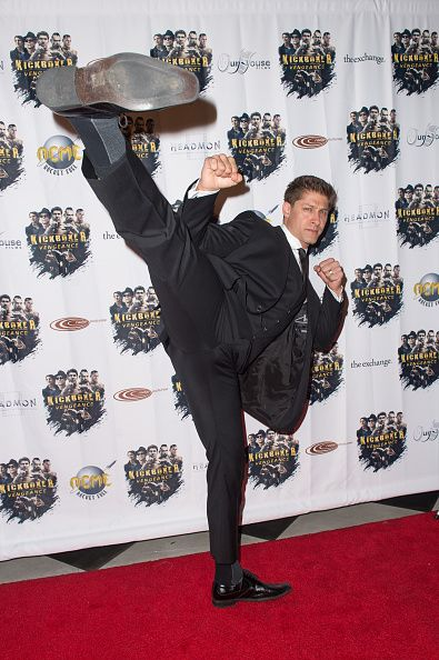 Actor/stuntman Alain Moussi arrives at the premiere of RLJ Entertainment's…