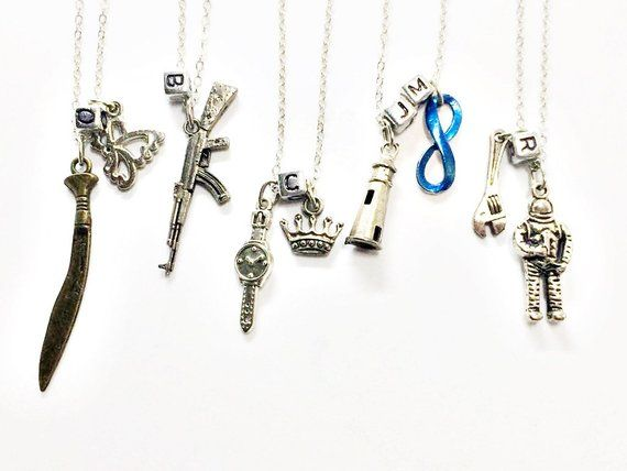 The 100 Character Necklace Octavia Bellamy Clarke John Etsy The 100 Characters Hand Stamped Cuff Bracelet The 100