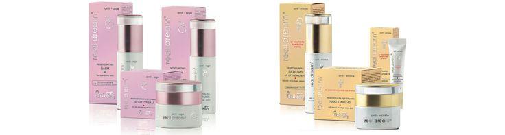 Dzintars linie Real Dream Anti-age for 30+ and Real Dream Anti-wrinkle for 40+, kozmetika s vysokým obsahom prírodných zložiek, www.plumeria.sk