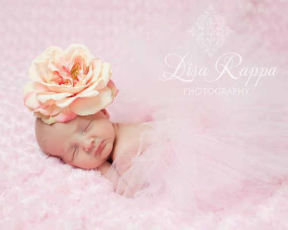 Newborn Baby Photo Prop Pink Tutu