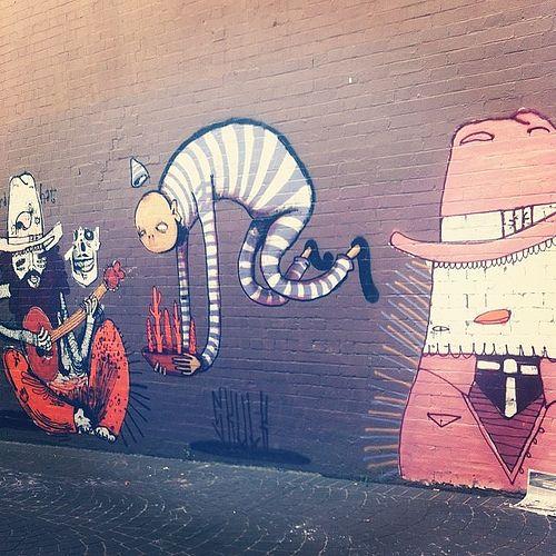 Street art, Newtown, Sydney