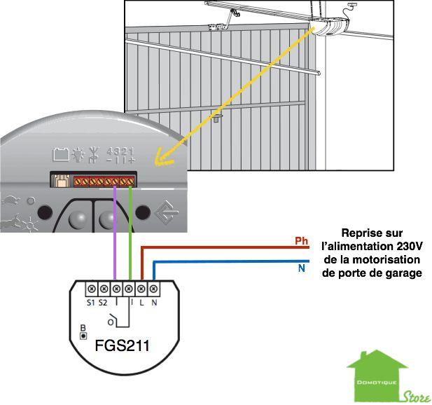 domotiser ses ouvrants motorisation de porte de garage câblage de