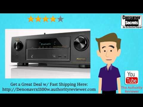 Check out this exclusive review of the Denon avr-x2100w and Denon AVR-X1100W and learn about the advantages and dis-advantages of this product -- Denon AVR-X1100W 7.2 Channel Full 4K Ultra HD A/V Receiver --- https://www.youtube.com/watch?v=DPYSEmuKOsY