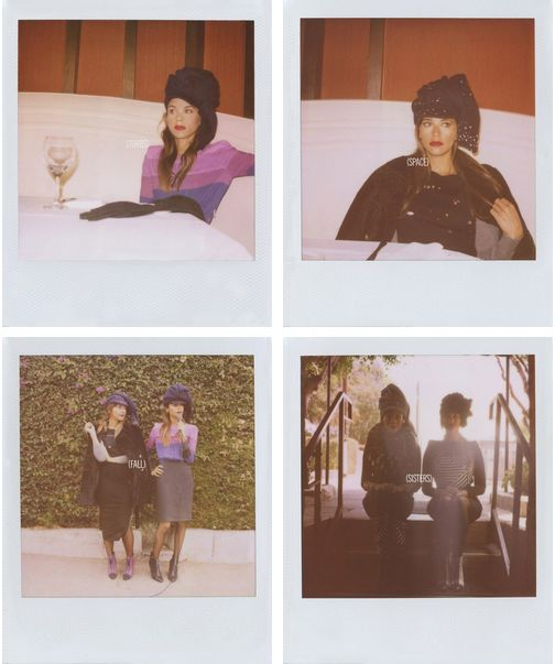 Band of Outsiders Polaroid Campaign