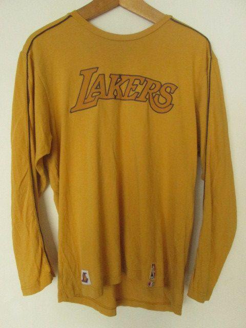 LA Lakers Los Angeles Lakers NBA Basketball Mens Sweatshirt Size L Large Used Condition Champion by ForgottenTreasuresEU on Etsy