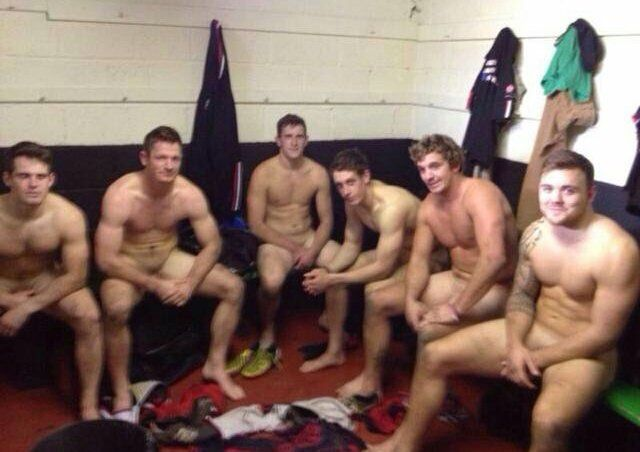 Men In Locker Room 2