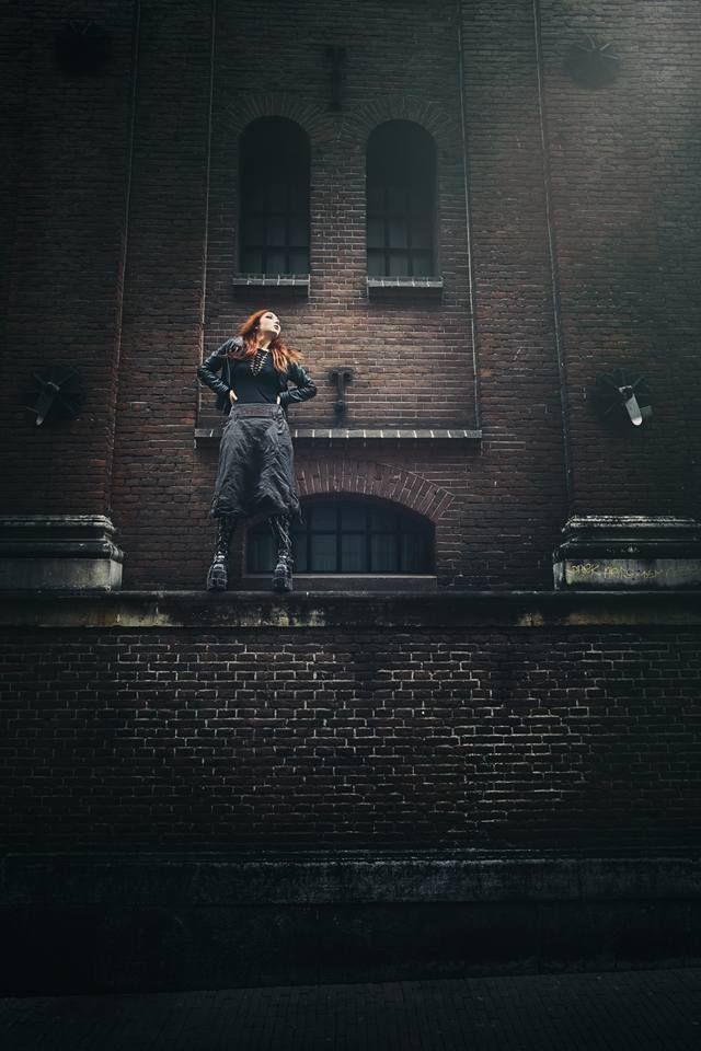 Grunge, Wasteland, Fashion   Photographer: Peter Krul    MUA: Yvette Krul    Model: California Acid    Styling: Noor Heynen of BLACKwood -Styling