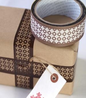 Designer Parcel Tape.