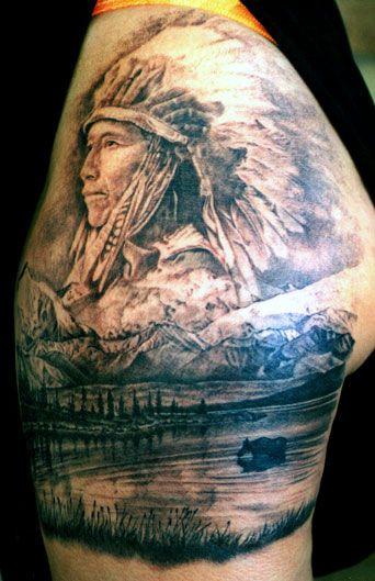 incredible ...Indian Tattoo, Native American
