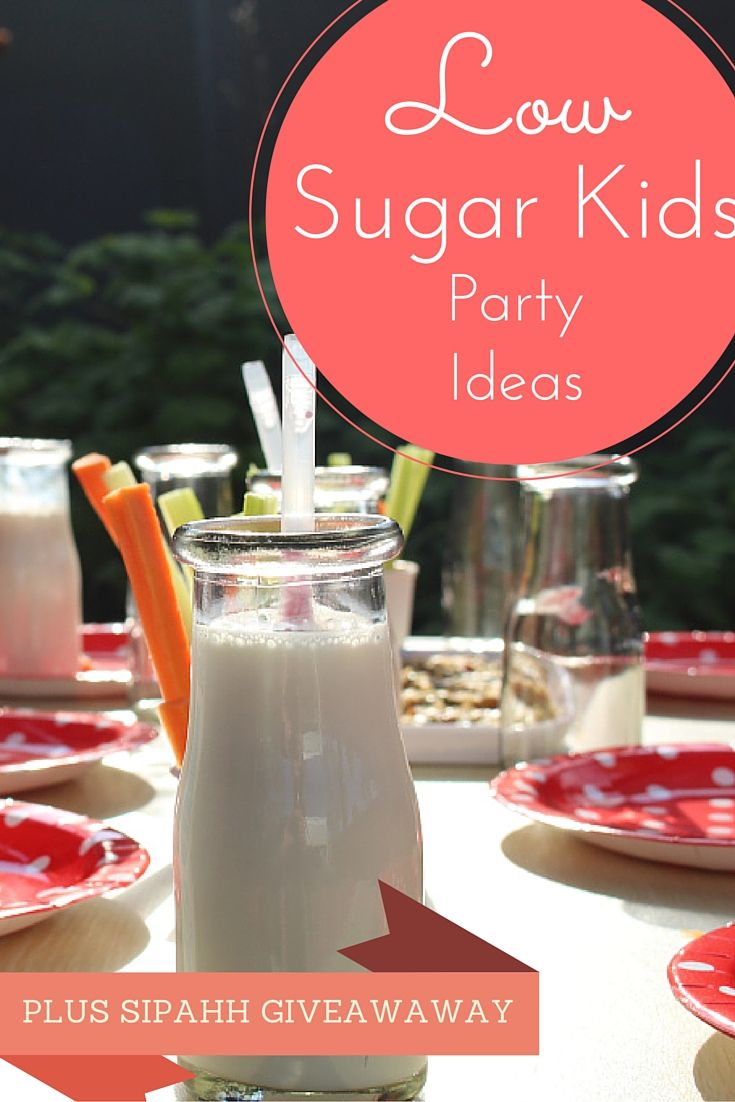 Want some #ideas on low sugar #kids #party #recipes? Plus we are giving away a crate of Sipahh Milk Flavoured Straws! - Mamma Raj Says