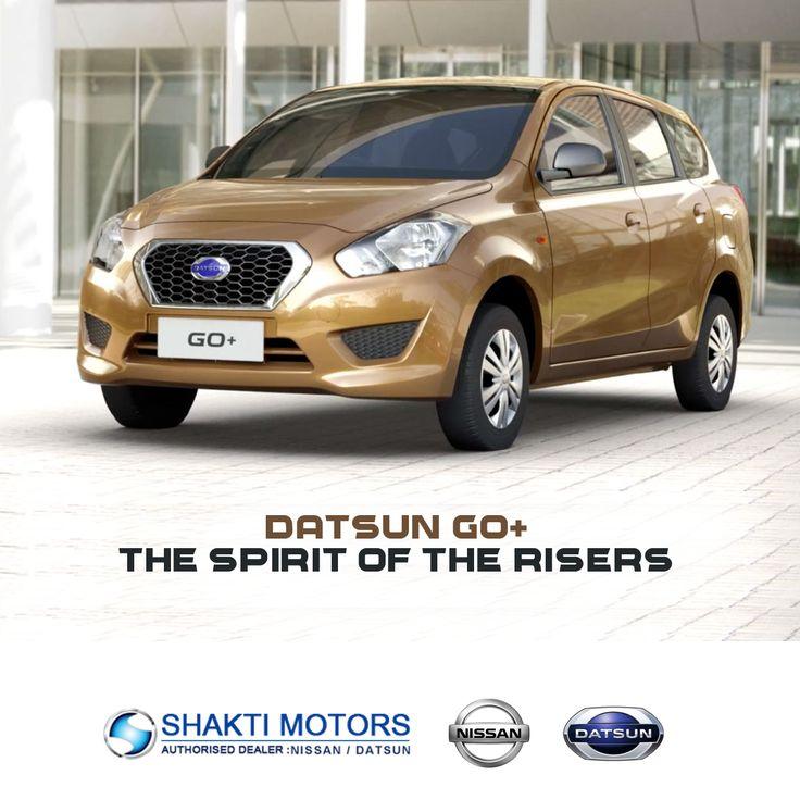 "#DatsunGo+ - Shakti Nissan ""The spirit of the risers! "" For More Details on this car: https://goo.gl/7sCjKx #Datsun #DatsunCars #MumbaiCars #CityCars"
