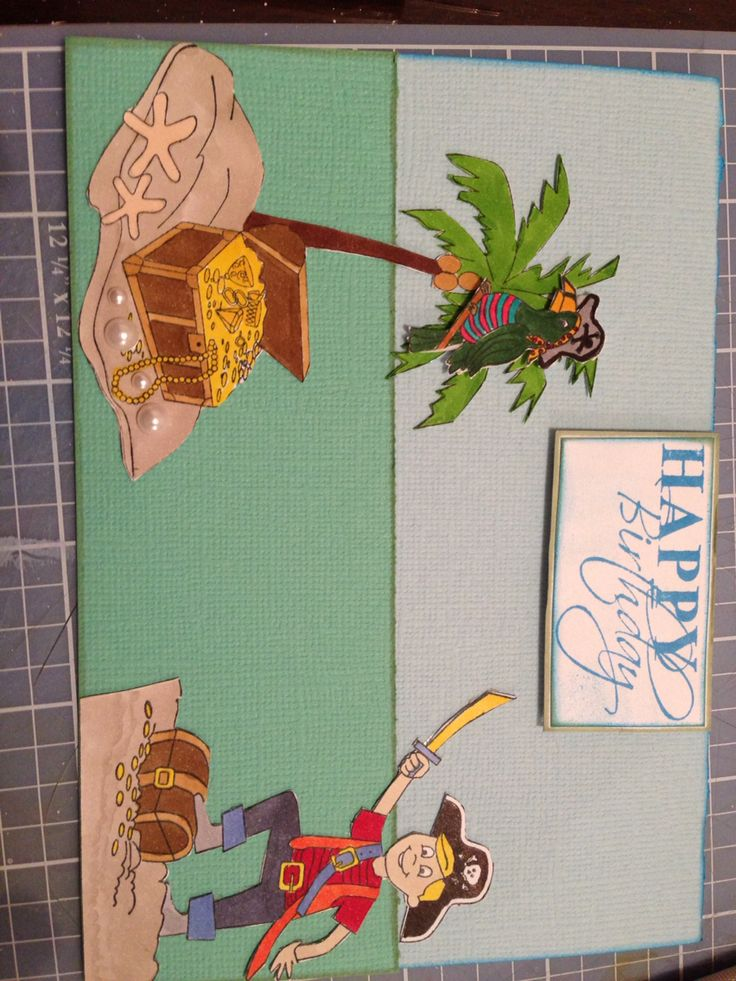 Pirate card designed by Kristy Knight Independent Kaszazz Consultant