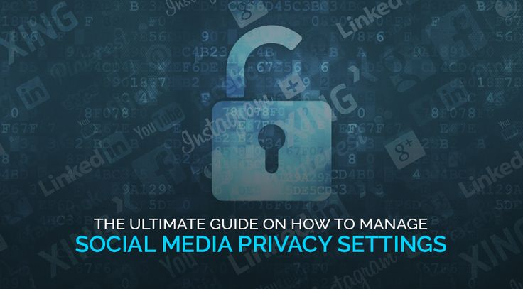 Check out the step-by-step guide on social media privacy settings for Facebook, Twitter, Pinterest, LinkedIn and Instagram.