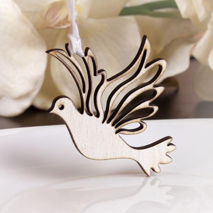 Niepowtarzalne weselne gołąbki wykonane z drewna.  To wyjątkowa pamiątka, która sprawi że goście długo będa wspominać Państwa wesele.