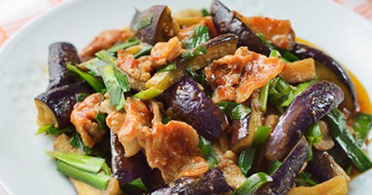 なすと豚肉のキムチ炒め by 桃屋レシピ [クックパッド] 簡単おいしいみんなのレシピが244万品