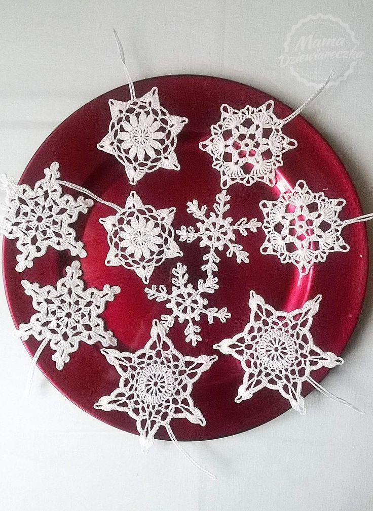 Crochet snowflakes / szydełkowe śnieżynki