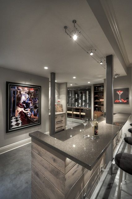 Basement Ideas On Pinterest