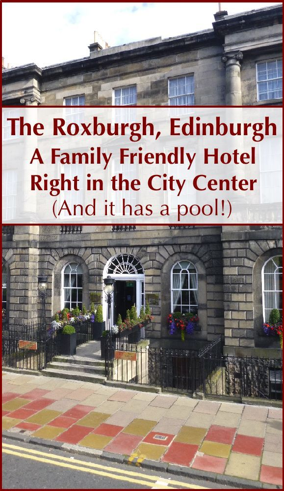 The Roxburgh Hotel offers a rare find in Edinburgh, a full-service family friendly hotel in a good location, and at a good price.