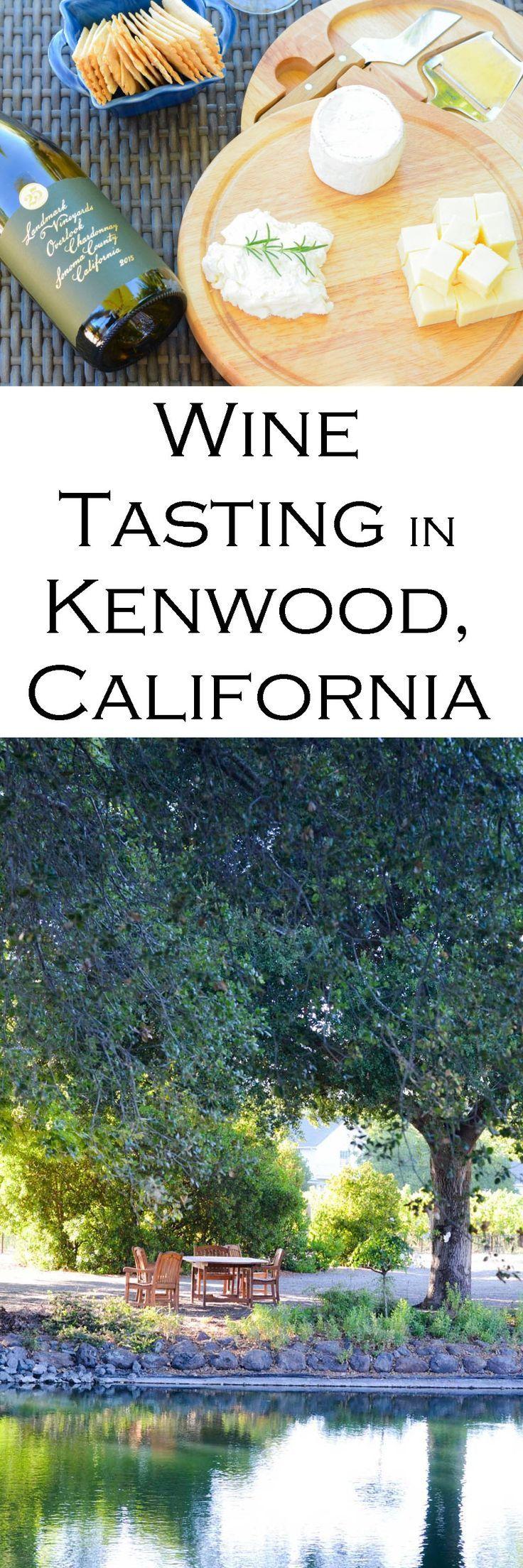 Landmark Vineyards in Kenwood, CA - Great Winery near Santa Rosa. Wine Tasting Outfit Ideas