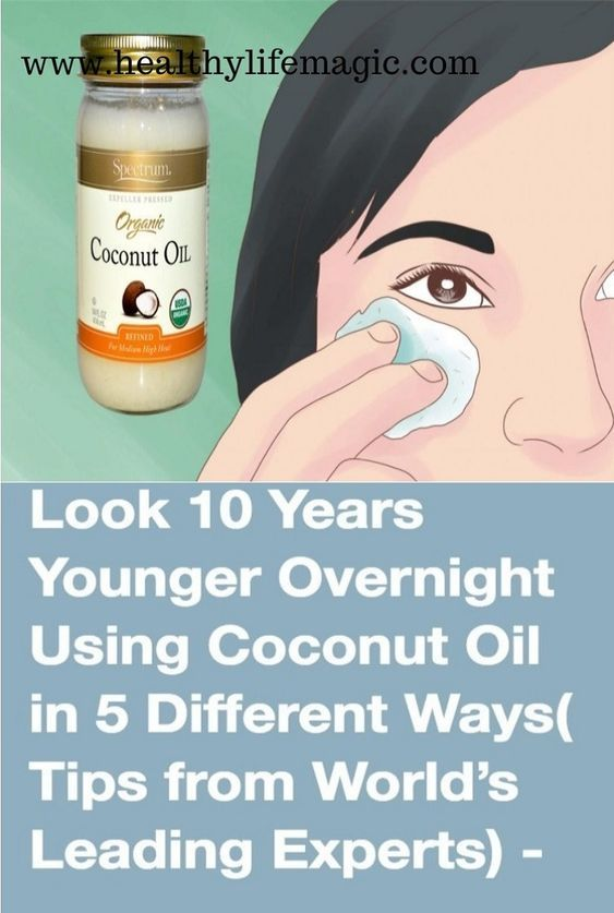 Look 10 Years Younger Using Coconut Oil in 5 Different Ways (Tips from World's Leading Experts