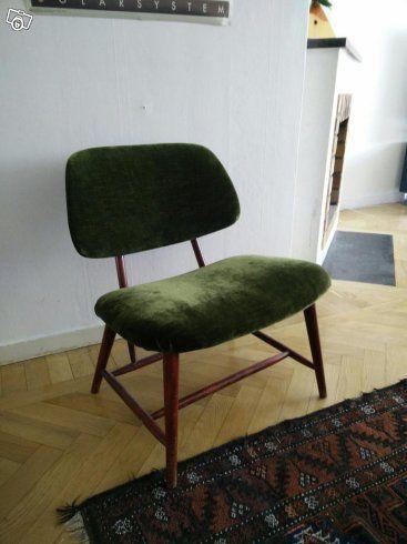 Retro stol och nattduksbord | Örebro