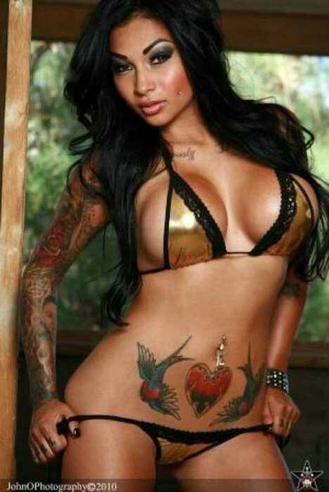 beautiful chicas more inked girls sexy tattoo brittanya ocampo sexy