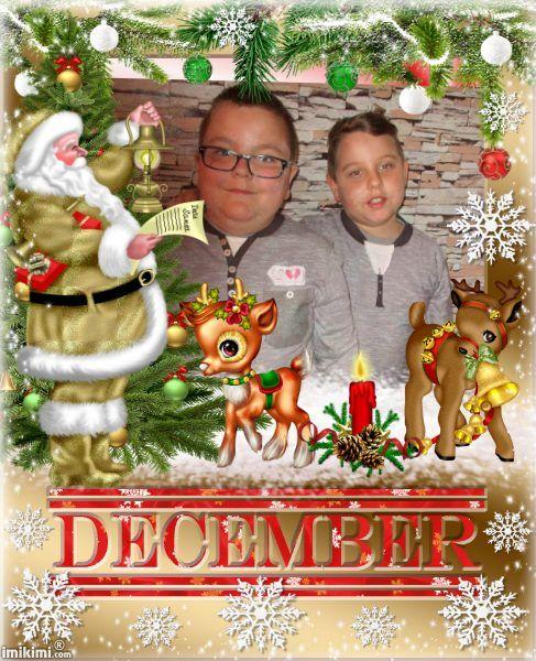 December Santa Claus Christmas