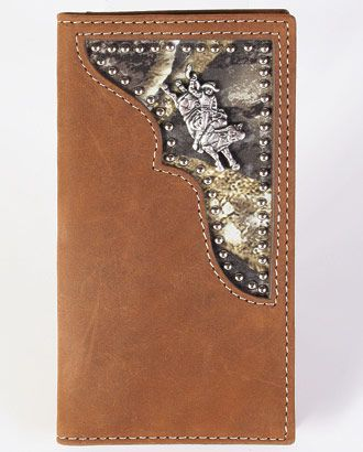 """Make your little cowboy feel like he is all grown up by giving him this Boys' """"Remuda"""" Wallet from Fort Western Online."""