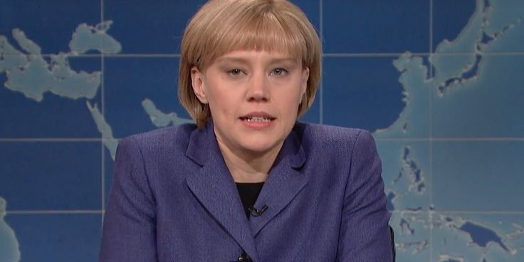 'SNL's' Angela Merkel Is Not Happy Donald Trump Is Time's 'Person Of The Year'