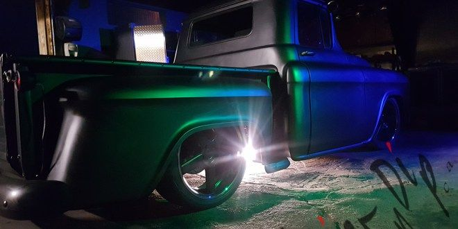 The Mighty Chevrolet 1955 – Anthracite Satin Finish