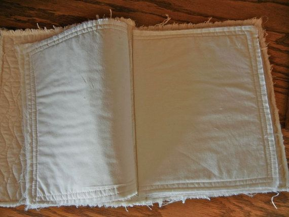 Large Fabric Book Cover : Ideas about fabric books on pinterest