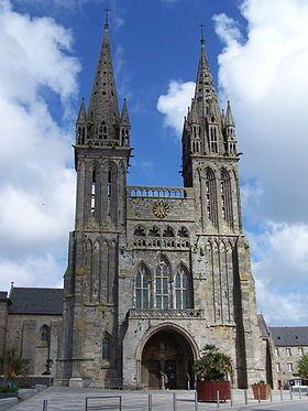 Cathédrale Saint-Paul-Aurélien de Saint-Pol-de-Léon.. Finistère. Bretagne