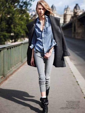 足細効果のあるスウェットでメリハリコーデ!セレブのかっこいい着こなし術☆参考にしたいジャージコーデのスタイル・ファッション♪