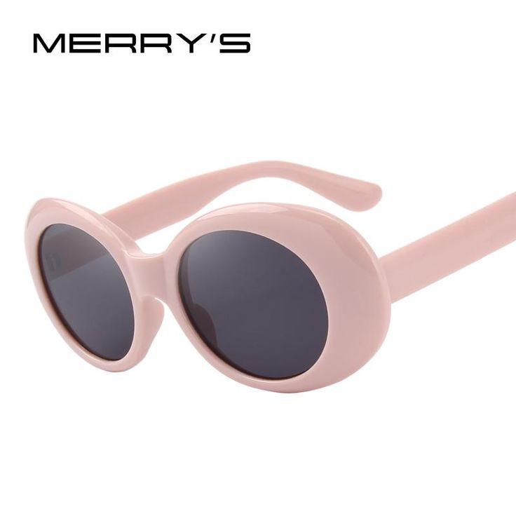MERRY'S Fashion Oval Women Sunglasses Brand Designer Sunglasses S'6124