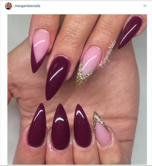 best 25 red stiletto nails ideas on pinterest red nails