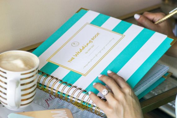 Wedding Planner Book Wedding Book Keepsake Organizer Wedding Planning Guide Calendar Checklist Engagement Gift Bridal Shower Maid of Honor