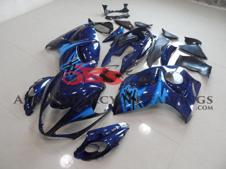 Blue with Blue Stickers 2008-2014 Suzuki GSXR 1300 Hayabusa