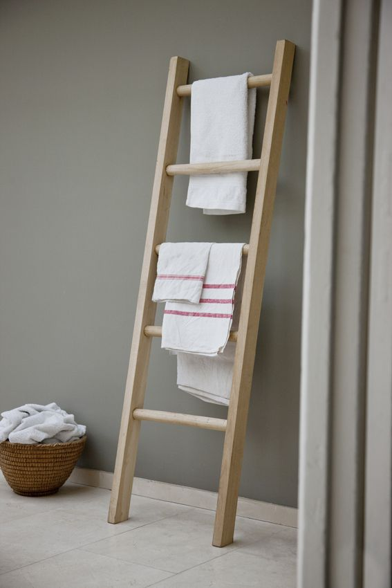 Hambledon Towel Ladder Ladder Towel Racks Bathroom Ladder Towel Rack Bathroom