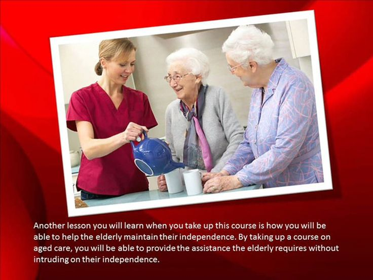 Click here http://goo.gl/E5HtMJ  Here are some of the many things you can learn when you take up aged care courses. If you want to be in the aged care sector and…