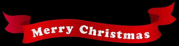 New Post merry christmas and happy new year banner clipart