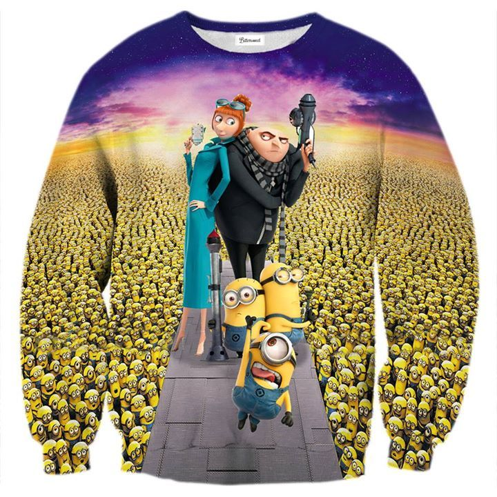 If you love minions as much as we do, you will surely appreciate this print. If you don't have any idea who those little yellow guys are, you should get a smaller size for a younger sibling. They will love it! www.bittersweetparis.com
