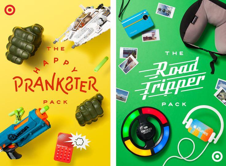 Target   Packs For Pop's — Nicolas Fredrickson Omaha, NE Lettering