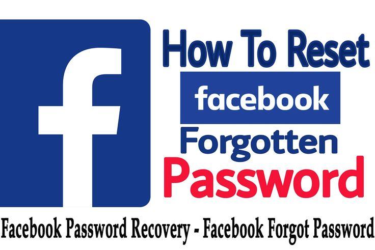 Facebook password recovery facebook password change