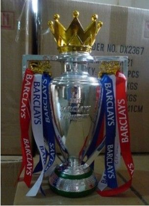 Ukuran kecil 15 cm inggris Premiership Champions Cup/Cangkir Inggris FA/Premier league trophy replica