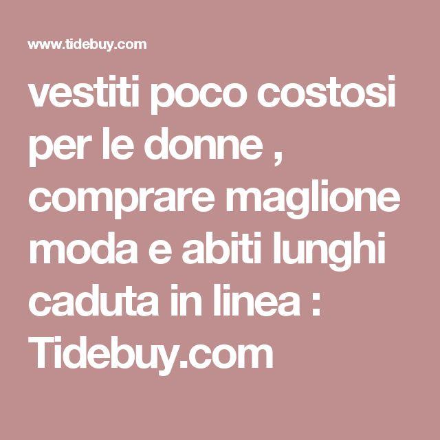 vestiti poco costosi per le donne , comprare maglione moda e abiti lunghi caduta in linea : Tidebuy.com