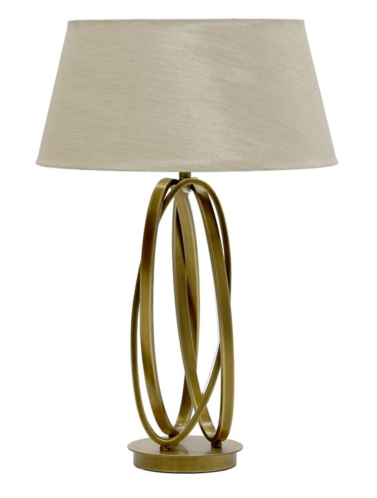 Brass table lighting the sofa chair company