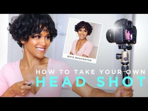 How to Photograph Your Own Headshot | TECH TALK - YouTube
