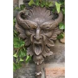 Wall Mask - Lawn Ornaments and Fountains.  $10.00