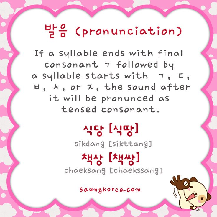 It'll be pronunced as tensed consonant. ㄱ becomes ㄲ, ㅅ becomes ㅆ, ㅈ becomes ㅉ, ㅂ becomes ㅃ, ㄷ becomes ㄸ ^^
