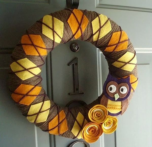 DIY Thanksgiving Wreaths | She's Crafty.  No directions on the site, but a collection of a dozen or so fall wreaths.  Great inspiration and ideas.